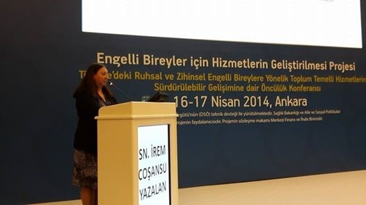 "The project, ""Promoting Services for People with Disabilities"" written by humphrey alumni İrem Cosansu Yalazan (2001-2002) and financed by European Union and Turkish Government has been completed"